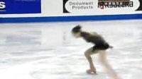 金妍儿 四大洲花样滑冰锦标赛女单短节目2009.2
