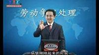 聂振亚老师的讲座视频:《劳动争议处理》