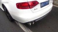 奥迪A4L 2.0T汽车改装,排气改装,REPOSE排气