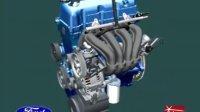 汽车发动机装配、润滑、冷却、运行视频
