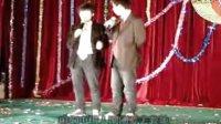 广东省电子技术学校09年元旦晚会相声《哭笑不得》