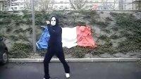 法国面具男 鬼步舞(这才是最清晰的)