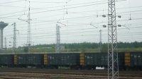 大秦铁路壮观的两万吨大列回程