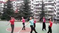 舞蹈太阳花瑰吒紫舞蹈队
