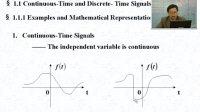 信号与系统 36讲 电子科技大学
