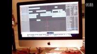 一体机iMac苹果grageband 编曲作品 机器人与小孩  创意歌手郑冰冰