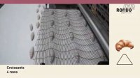 RONDO瑞士龙都牛角包生产线:羊角牛角可颂整形机(不包馅牛角面包机)