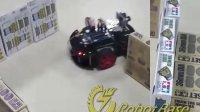 Arduino-2WD轻量型移动机器人超声波旋转侦测演示