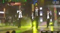 superjunior现场PK少女时代(超级搞笑,互唱歌曲外加舞王的一首)现场MV