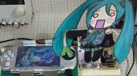 日本宅神自制PSP机器人完美挑战《初音未来》最强曲《消失》HARD难度