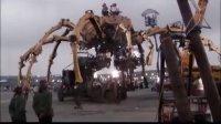 震撼实拍-史上最牛六轮大螃蟹车