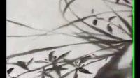 霍春阳画兰草