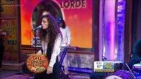 【猴姆独家】新西兰16岁新星Lorde做客GMA现场献唱冠单Royals!