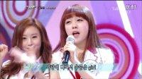 Girls day敏雅--Gee (少女时代) 110417 SBS挑战千曲