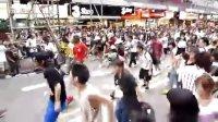 7月26日 香港旺角快闪活动纪念MJ Flash Mob Beat It