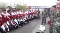 吉林省榆树市第二实验小学学生参观消防器材演练