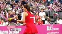 2010 Fed Cup 塞尔维亚VS斯洛伐克 扬科维奇VS汉图科娃