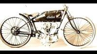 怀旧风格 老式摩托车