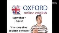 英语口语课:英美国家是如何表达歉意 (纯英文教学)