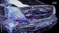 2013全新捷豹ALIVE智能科技巡展 车体投影