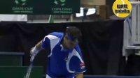2010 Davis Cup 瑞典VS意大利 索德林VS佛格尼尼