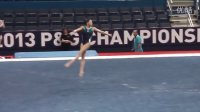 Kyla Ross - Floor - 2013 P&G Gymnastics Championships PT