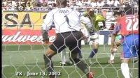罗纳尔多世界杯15大进球集锦