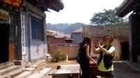 【拍客日记】——任村道观的内景,瑞雪和崔彤在拍摄