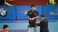 20130901全运会乒乓球团体预赛_张继科(山东)vs孙健(黑龙江) 热身