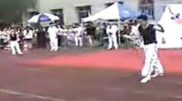 2009辽宁商贸 弘武道场 在社团节的表演