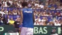 2010 Davis Cup 法国VS阿根廷 孟菲尔斯VS纳尔班迪安 HL