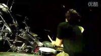 超炫酷的架子鼓表演 林肯公园现场版