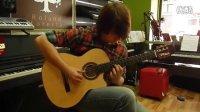 古典吉他 Kremona  (克里莫纳)吉他演奏 型号Rose Luna