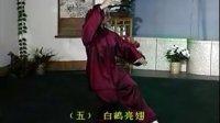 42式太极拳教学 高佳敏示范(1至10)分解动作