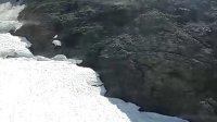 瑞士雪山360度旋转缆车观景