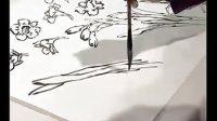 跟徐湛老师学国画 第41集 水仙的画法