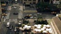 延时移轴摄影:三万五千张照片展现纽约的一天