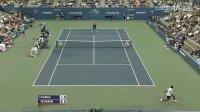 2010美国网球公开赛男单R1 费德勒VS达布尔 HL