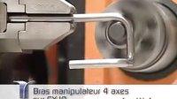 法国纽曼Numalliance数控线材折弯机---机械手配合弯线机