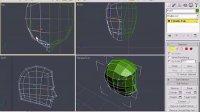 3d MAX 人体建模教程[低模头]