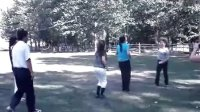 """初中同学聚会玩""""视频.跳绳"""""""