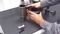 BILZ 热胀仪如何装夹刀具刃部直径比柄部直径大的状况2,如T型刀