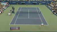 2010美国网球公开赛女单R1 沃兹尼亚奇VS古利克森