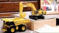 1:10超大无线摇控挖土机挖掘机工程车