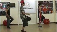 北京CK舞团Breaking教学,Toprock (3)