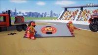 乐高/LEGO城市系列60027运输车 儿童益智积木玩具