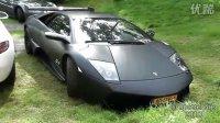 Matte black Murciélago LP670-4 SuperVeloce