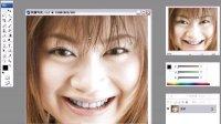 photoshop美白牙齿