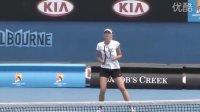莎拉波娃2011澳网训练片段 PART 1