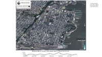 Flood Simulation - Hurricane Sandy in Hoboken - Satellite